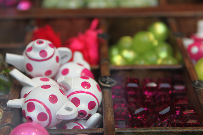 Tea Pot Beads at Tukadu Bead shop Mitte Berlin