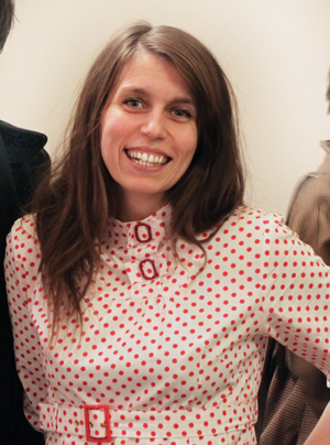 Me in the red ploka dot dress :)