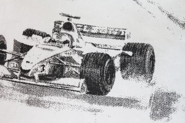 Formula 1 F1 dress print