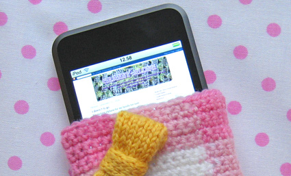IPod Cozy crochet