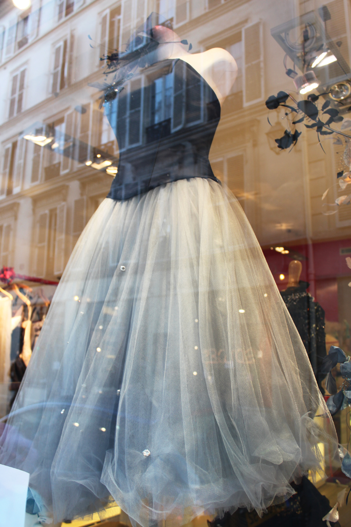 Ispiration dress tulle paris
