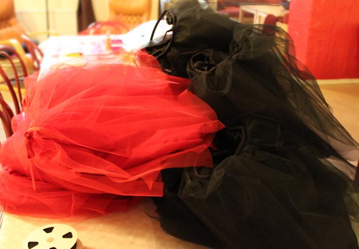 tulle ballet skirts